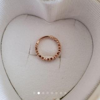 ヨンドシー(4℃)の4℃のピンキーリング(リング(指輪))