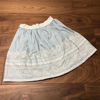 Shirley Temple - シャーリーテンプル☆フリルスカート☆120cm☆水色