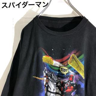 スパイダーマン Tシャツ 2XL(Tシャツ/カットソー(半袖/袖なし))