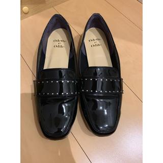 オデットエオディール(Odette e Odile)の黒 ローファー(ローファー/革靴)