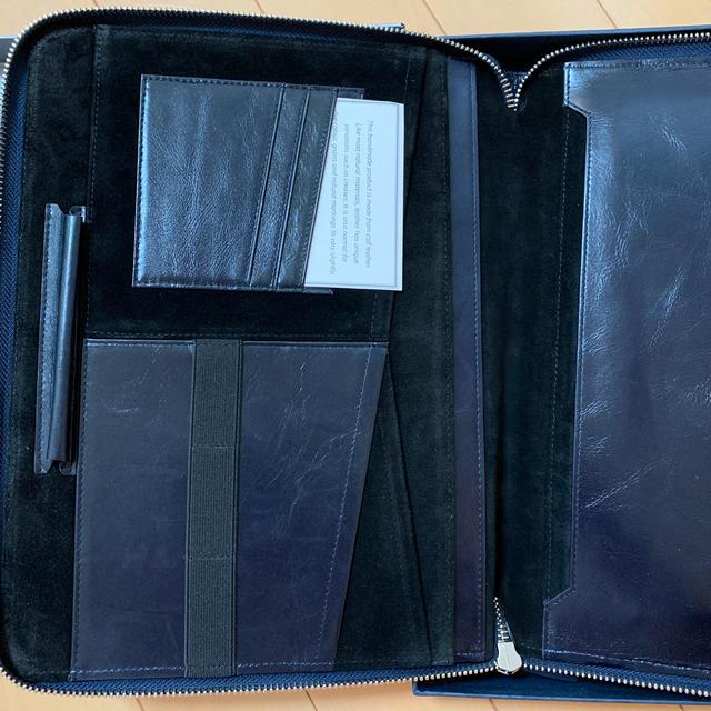 BARCLAY(バークレー)のbarclays ノートパッドホルダー 本革 スマホ/家電/カメラのPC/タブレット(PC周辺機器)の商品写真