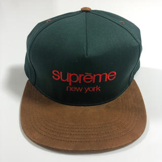 Supreme - supreme classic logo 5P cap