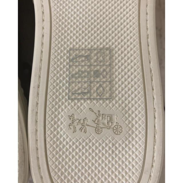 COACH(コーチ)のCOACH/コーチ メンズレザースニーカー 27㎝ メンズの靴/シューズ(スニーカー)の商品写真