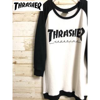 スラッシャー(THRASHER)のTHRASHER スラッシャー ロングtシャツ (Tシャツ/カットソー(七分/長袖))