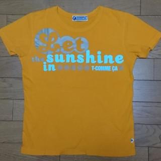 comme ca Tシャツ オレンジ(Tシャツ(半袖/袖なし))