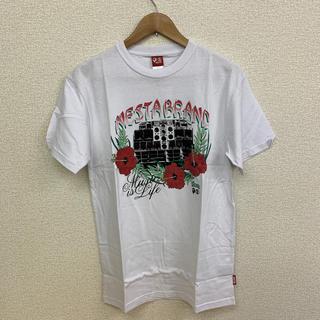 ネスタブランド(NESTA BRAND)の◆新品未使用◆NESTA BRAND Tシャツ「ハイビスカス」白 Mサイズ(Tシャツ/カットソー(半袖/袖なし))