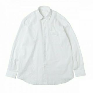コモリ(COMOLI)の18AW 新品 COMOLI コモリシャツ 白 サイズ2 シャツ(シャツ)