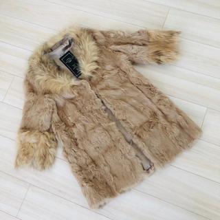 トゥービーシック(TO BE CHIC)のラビット&ラクーンの毛皮半コート(毛皮/ファーコート)