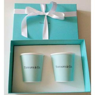 Tiffany & Co. - 未使用 ティファニー 紙コップ プレゼントラッピング