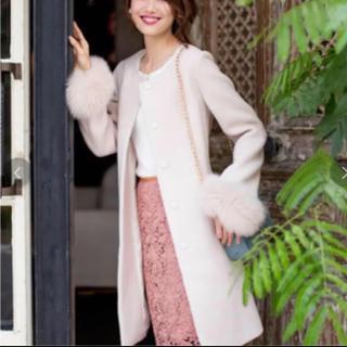 プロポーションボディドレッシング(PROPORTION BODY DRESSING)のプロポーション♡ノーカラーコート(ロングコート)