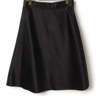 フェンディ(FENDI)のFENDI フェンディ スカート サイズ40 BLACK(ひざ丈スカート)