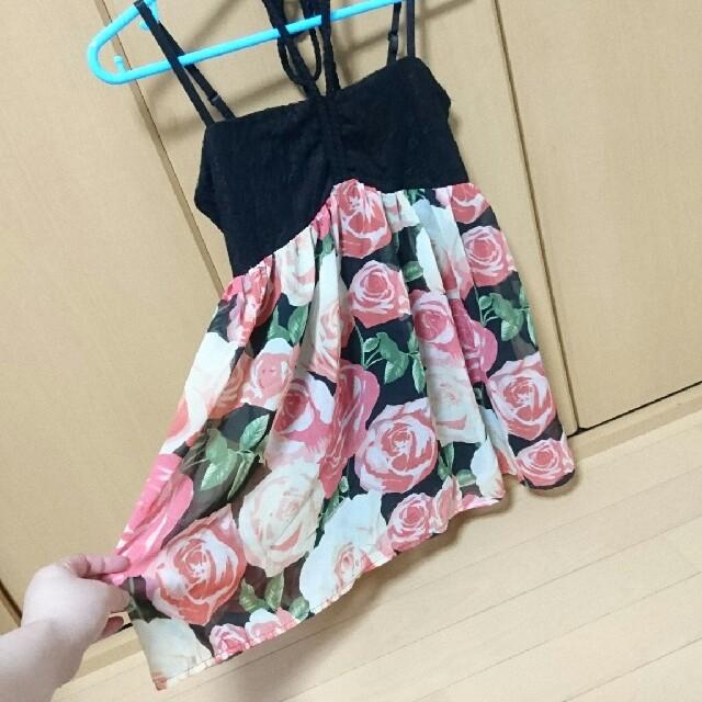 しまむら(シマムラ)の薔薇✕レース キャミソール レディースのトップス(キャミソール)の商品写真