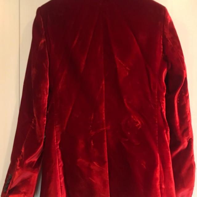 Saint Laurent(サンローラン)の【SAINT LAURENT】ベロアテーラードジャケット/未使用(44) メンズのジャケット/アウター(テーラードジャケット)の商品写真
