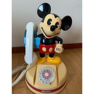 Disney - ミッキー ダイヤル 固定電話