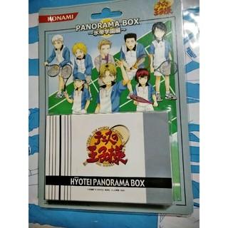 KONAMI - テニスの王子様 PANORAMA BOX 氷帝学園編 ペーパーフィギュア コナミ
