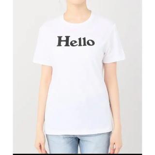 マディソンブルー(MADISONBLUE)のマディソンブルー     HELLO Tシャツ(Tシャツ(半袖/袖なし))