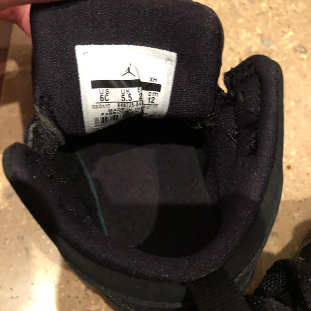 NIKE(ナイキ)の✩ NIKE ナイキ ジョーダン ベビーシューズ✩ キッズ/ベビー/マタニティのベビー靴/シューズ(~14cm)(スニーカー)の商品写真