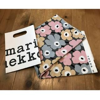 マリメッコ(marimekko)のmarimekko マリメッコ 生地 ハギレ はぎれ ピンクグレー ファブリック(ファブリック)