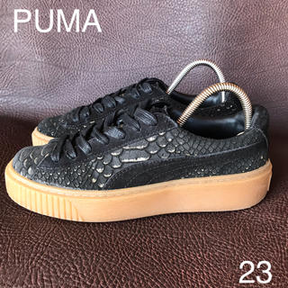 PUMA - PUMA PLATFORM EXOTSKIN WNS プーマプラットフォーム