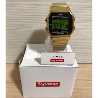 Supreme 19AW Timex Digital Watch   Gold