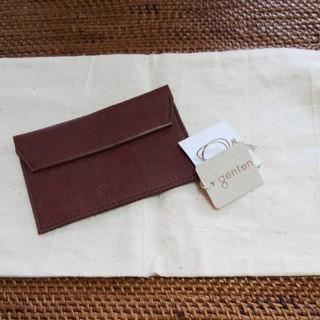 ゲンテン(genten)の⭐️美品  ゲンテン  カード&名刺ケース⭐️(名刺入れ/定期入れ)