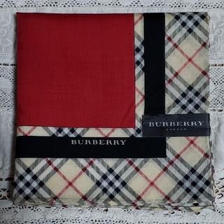 BURBERRY - BURBERRY バーバリー 大判 ハンカチ 新品