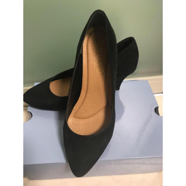 ORiental TRaffic(オリエンタルトラフィック)の黒パンプス レディースの靴/シューズ(ハイヒール/パンプス)の商品写真