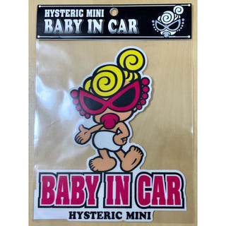 HYSTERIC MINI - ヒスミニ☆正規品☆新品☆BABY IN CAR☆STICKER☆外貼り☆②