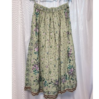 SM2 - ロングスカート 花柄