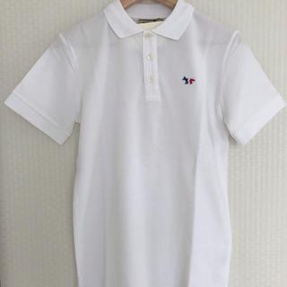 MAISON KITSUNE' - 新品MAISONKITSUNEメゾンキツネFOXポロシャツ正規品ホワイト/XS