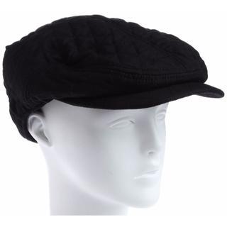 ビームス(BEAMS)のBEAMS ビームス キルトハンチング ブラック(ハンチング/ベレー帽)