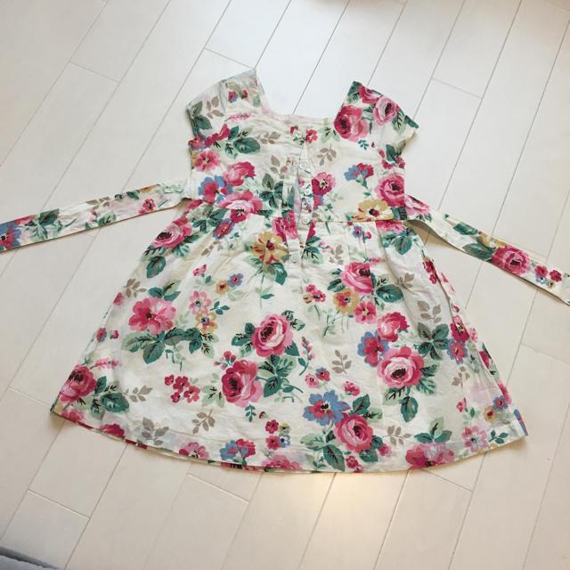 Cath Kidston(キャスキッドソン)のキャスキッドソン 花柄ワンピース 1-2years キッズ/ベビー/マタニティのベビー服(~85cm)(ワンピース)の商品写真