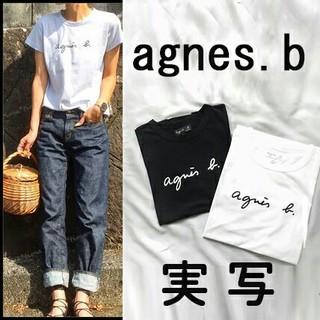 agnes b. - 【agnes b】アニエス・ベー ☆半袖ロゴTシャツ☆スタイリッシュ