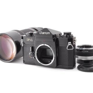 キヤノン(Canon)のCanon F-1 後期型 コレクターズ FD 300mm F4 セット(フィルムカメラ)