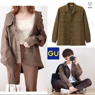 GU - GUオープンカラーシャツ