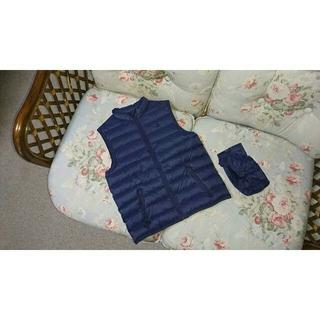 ラルフローレン(Ralph Lauren)の新品☆ラルフローレン ダウンベスト 紺 150(ジャケット/上着)