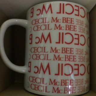 セシルマクビー(CECIL McBEE)のCECIL Mc BEE マグカップ(グラス/カップ)