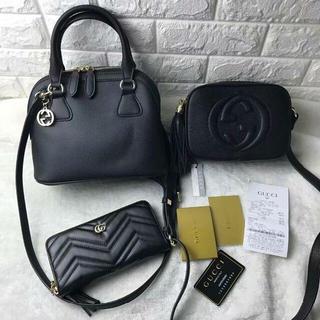 グッチ(Gucci)のGucci グッチ 3点セット トートバッグ ショルダーバッグ 財布(トートバッグ)