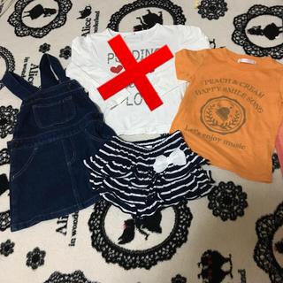 シマムラ(しまむら)の100.110センチ 女の子服まとめ売り(Tシャツ/カットソー)