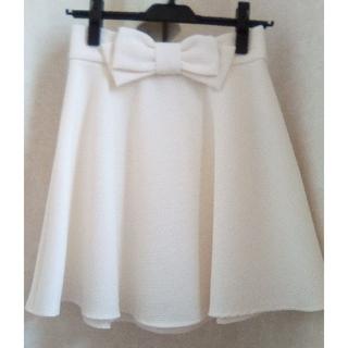INGNI - [新品・未使用] 厚手 アイボリー  Aラインスカート