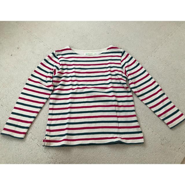 BEAMS(ビームス)のBEAMS miniビームスミニ のストライプのロンTです。  キッズ/ベビー/マタニティのキッズ服 女の子用(90cm~)(Tシャツ/カットソー)の商品写真
