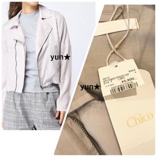 who's who Chico - 新品フーズフーチコ★ライダースジャケット★シャツジャケット