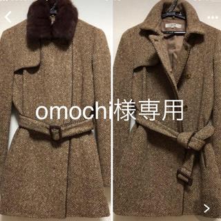 ニジュウサンク(23区)のomochi様 専用23区 冬物ツイードコート(ピーコート)