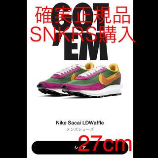 sacai - ナイキ サカイ LD waffle pine green
