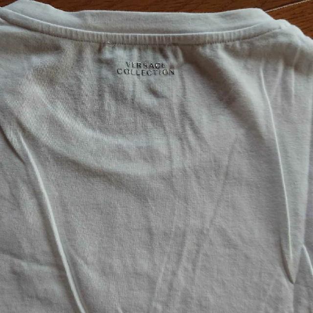 VERSACE(ヴェルサーチ)の美品 VERSACE COLLECTION    白Tシャツ メンズのトップス(Tシャツ/カットソー(半袖/袖なし))の商品写真