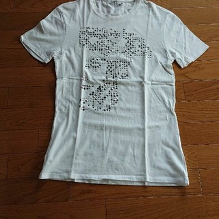 ヴェルサーチ(VERSACE)の美品 VERSACE COLLECTION    白Tシャツ(Tシャツ/カットソー(半袖/袖なし))