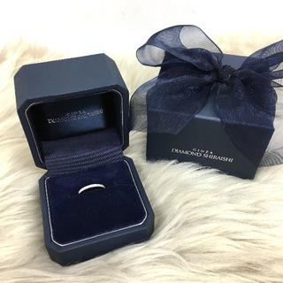 ダイヤモンドシライシ ハーフエタニティリング PT950(リング(指輪))