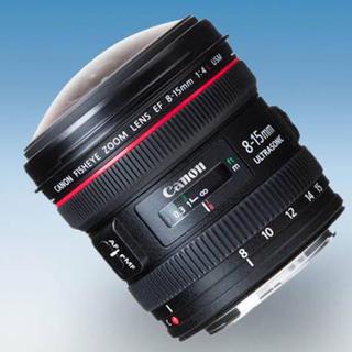 Canon - EF 8-15mm F4L フィッシュアイ