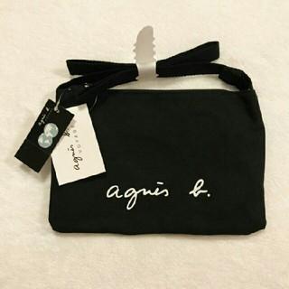 agnes b. - 新品 ★ アニエスベー  サコッシュ ショルダーバッグ 黒