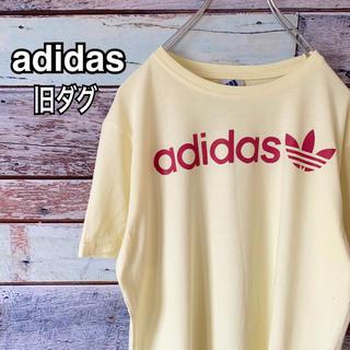 adidas - 【旧タグ】アディダス オリジナルス Mサイズ トレフォイル  イエロー